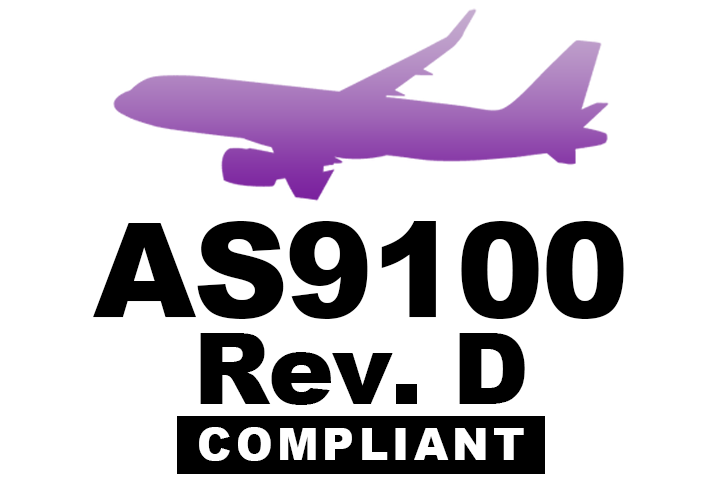 Armoloy of Southeast SC is now AS9100D Compliant
